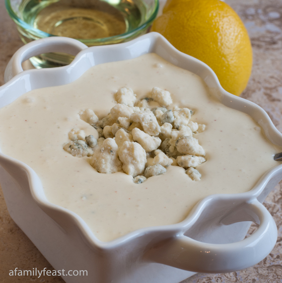 Blue Cheese Dressing - A Family Feast