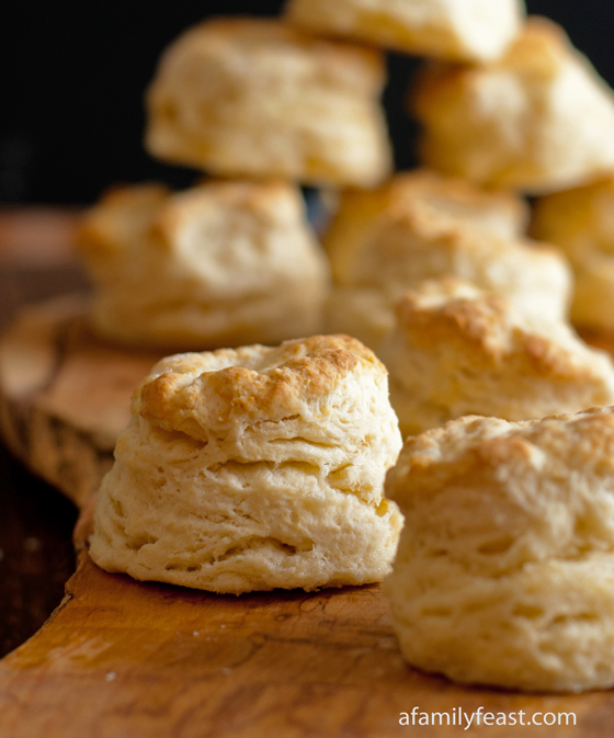 Sweet Buttermilk Biscuits - Reader comments say that these are some of the best biscuits they've ever made!