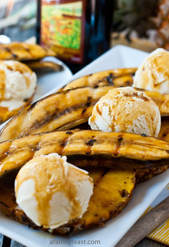 quick, easy and impressive summertime dessert - Grilled Bananas and ...