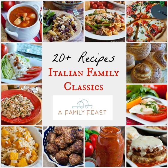 Italian Family Classics - A Family Feast