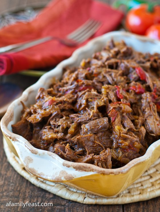 Mexican Shredded Beef - A Family Feast