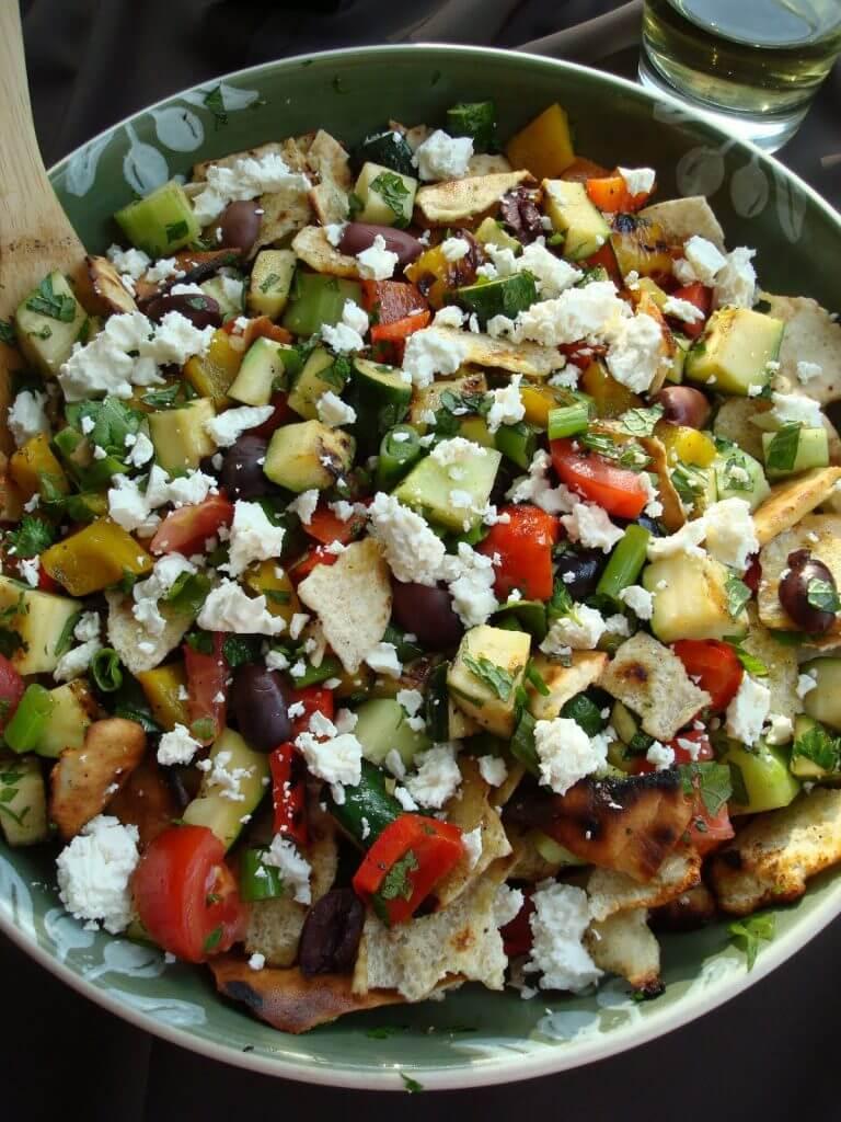 Grilled Foutash - 20 Sensational Healthy Salads