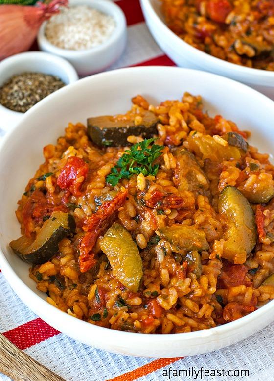 http://www.afamilyfeast.com/zucchini-tomato-risotto/
