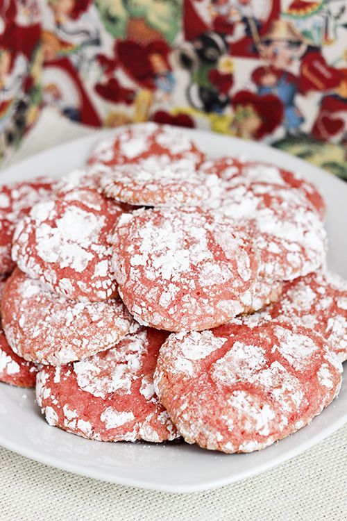 Strawberry Cool Whip Cookies - 25 Sweet & Savory Strawberry Recipes