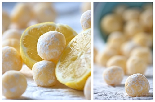White Chocolate Lemon Truffles - 15+ Luscious Lemon Recipes
