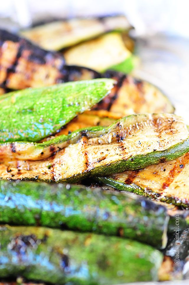 Grilled Zucchini - 30-Plus Great Grilling Recipes