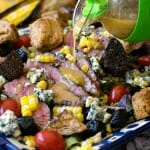 Grilled Steak and Corn Salad - A Family Feast