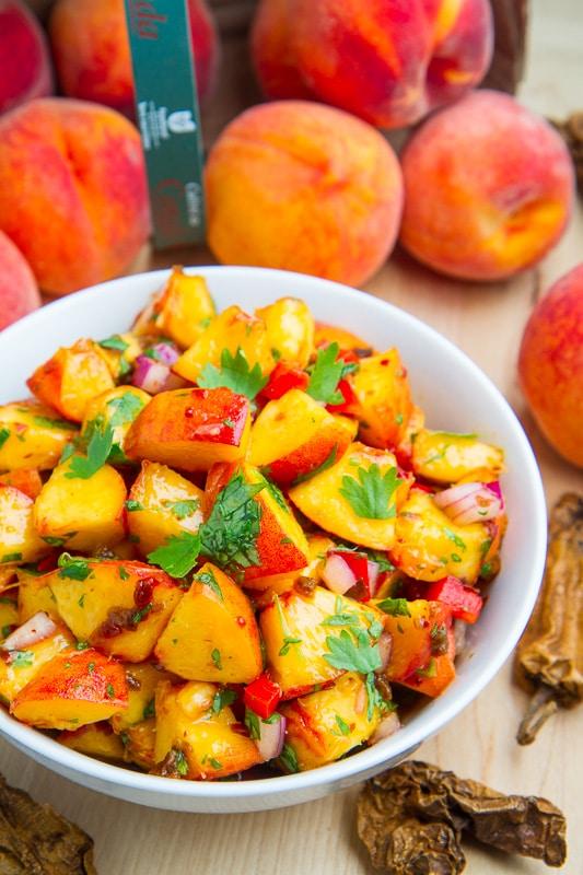 Chipotle Peach Salsa - 25-Plus Perfect Peach Recipes