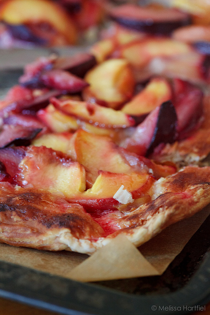 Rustic Peach And Plum Tart -25-Plus Perfect Peach Recipes
