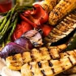 Grilled Seasonal Vegetables with Infused Oils - A Family Feast
