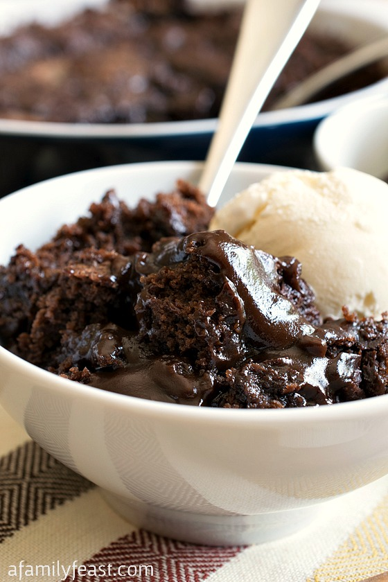 Keep Your Fork Good Things are Coming: Hot Fudge Pudding Cake