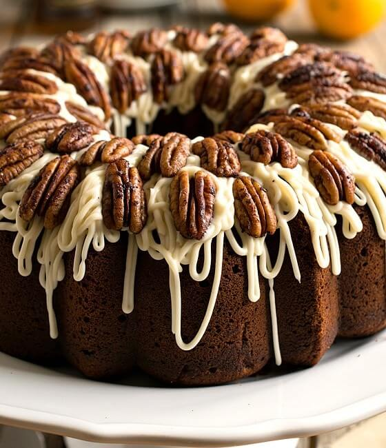 Spiced Rum Bundt Cake - A Family Feast