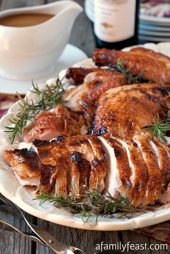 Perfect Roast Turkey! Includes a great brine plus a method of roasting ...