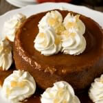 New England Caramel Pumpkin Pudding - A Family Feast