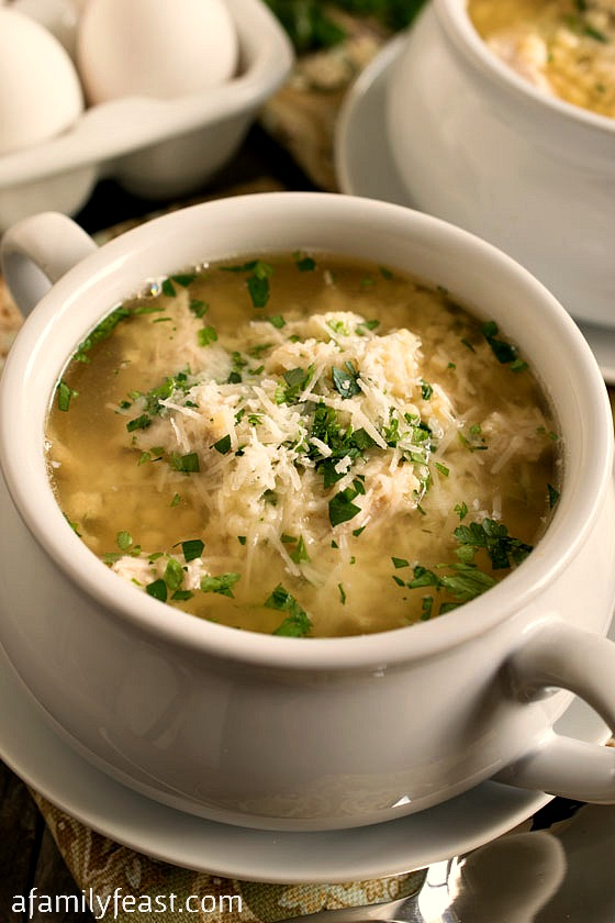 Turkey Stracciatella Soup - A classic Italian soup gets an update with ...
