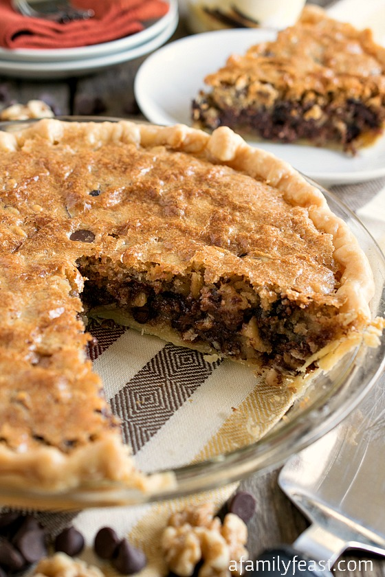Chocolate Chunk Walnut Cookie Pie Recipes — Dishmaps