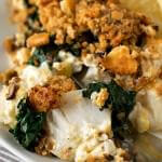 Baked Cod with Boursin - A Family Feast