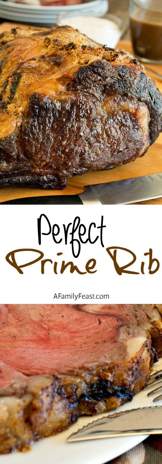 Perfect Prime Rib A Family Feast